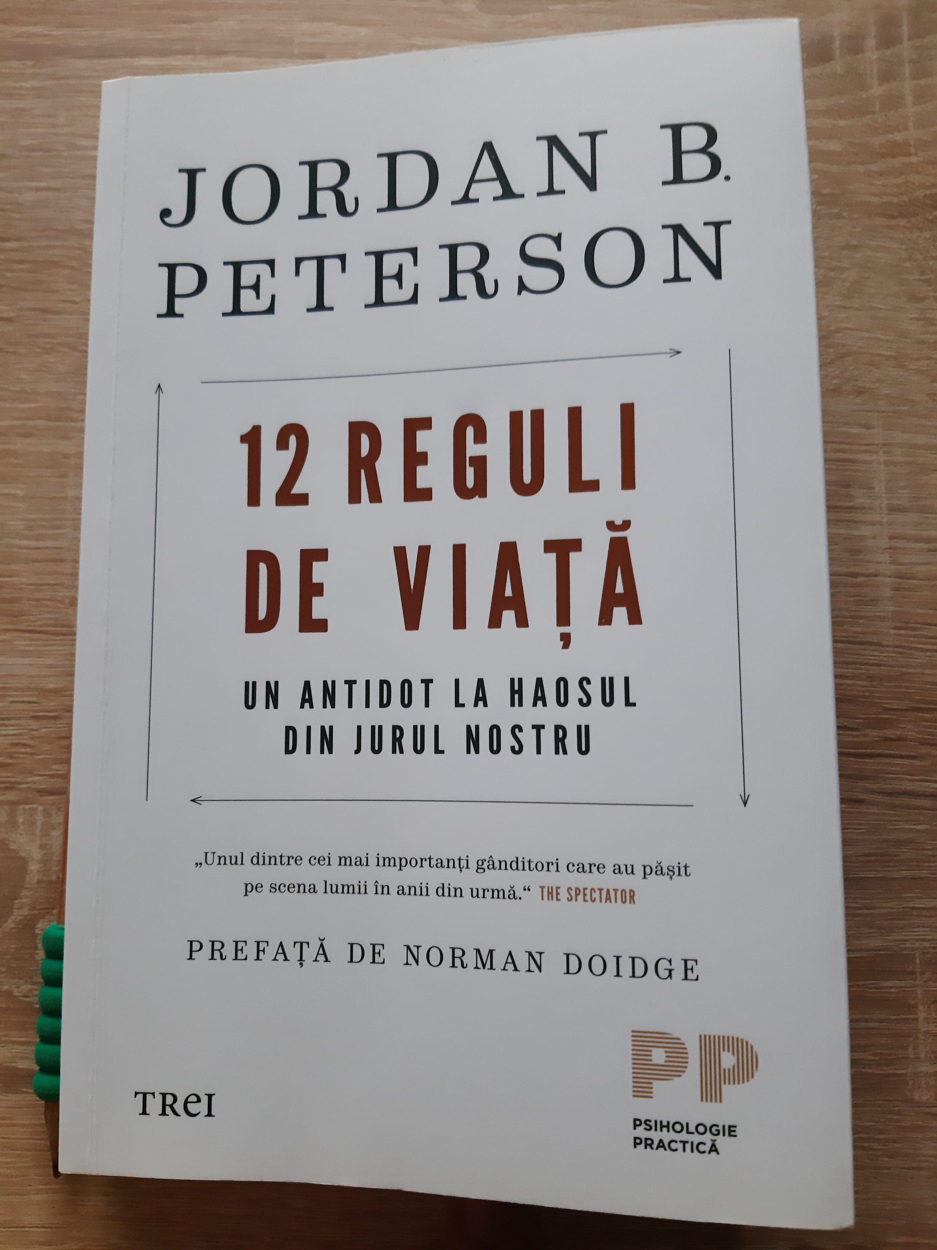"""""""Ținta pe care o alegi determină ceea ce vezi"""", Jordan Peterson"""