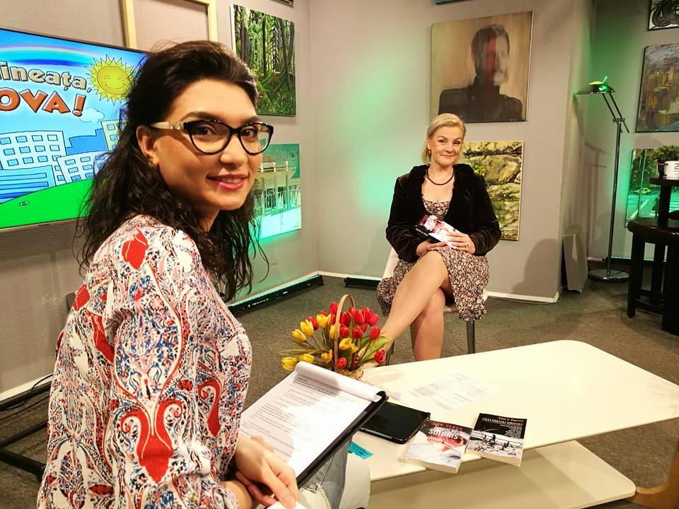 IULIA CRUȚ-  EMISIUNI TV